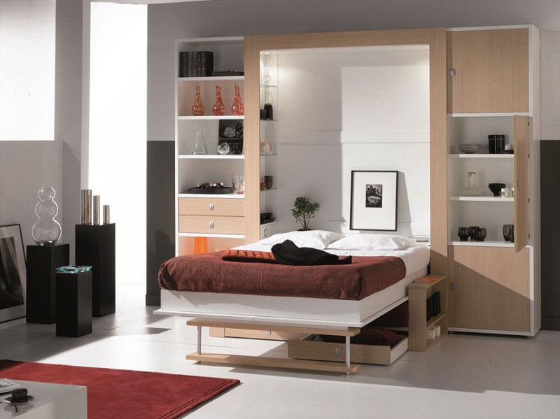 Chambres saint marcellin lit abatable saint marcellin par - Lit 140 avec rangement integre ...