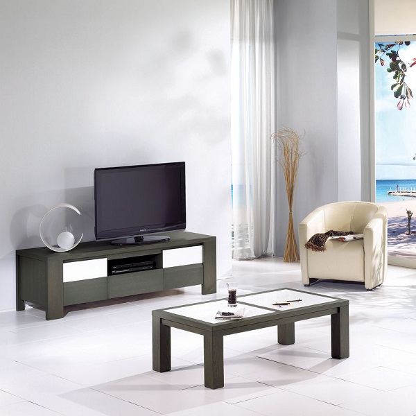 Tables basses, TABLE BASSE MIAMI, Meubles Bodin