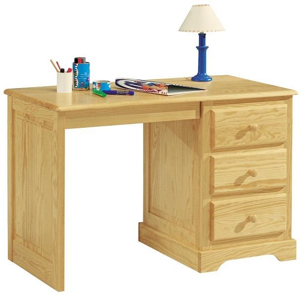 Armoire de bureau en pin for Bureau informatique en pin