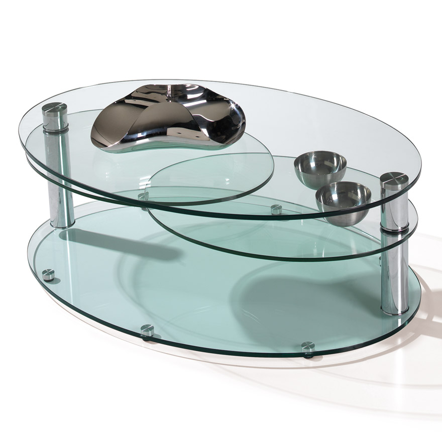 Tables basses, TABLE BASSE MANHATTAN, Meubles Bodin